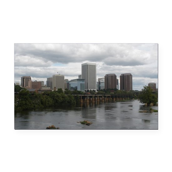 Richmond VA skyline