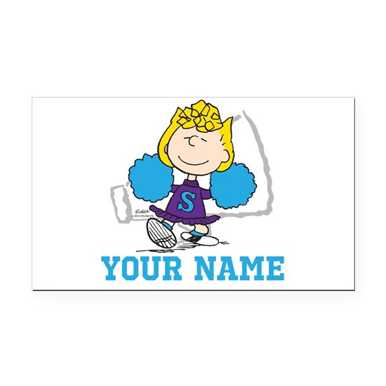 Snoopy Sally Cheer Personalized