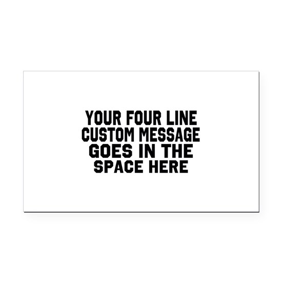 Customize Four Line Message