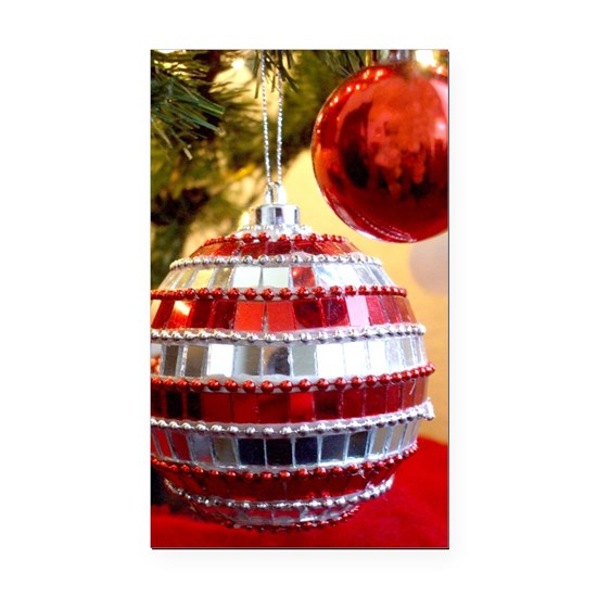 Car Christmas Ornaments.Christmas Ornaments Rectangle Car Magnet