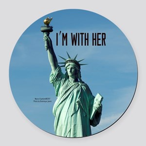Women's March–I'm With Lady Liberty Round