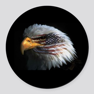 eagle3d Round Car Magnet