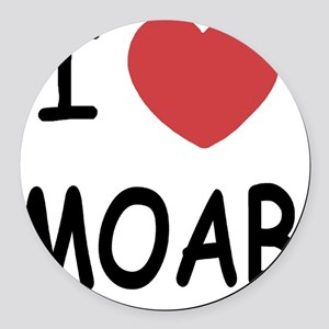 MOAB Round Car Magnet