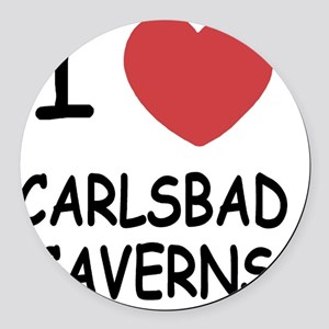 CARLSBAD_CAVERNS Round Car Magnet