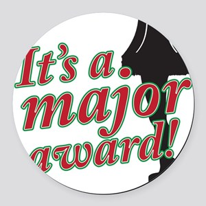 majoraward copy Round Car Magnet