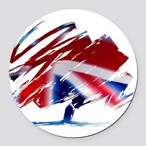 Conservative Party Round Car Magnet