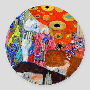 FF Klimt Hope II Round Car Magnet