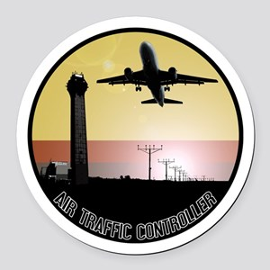 ATC: Air Traffic Control Tower & Plane Round Car M