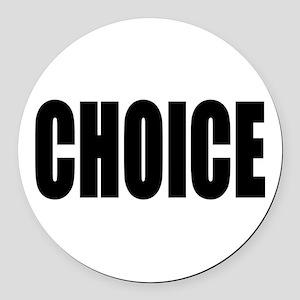 choiceRect Round Car Magnet
