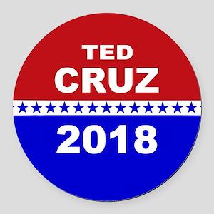 Ted Cruz Senate 2018 Round Car Magnet