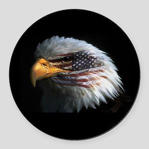 eagle3d Round Car Magnet