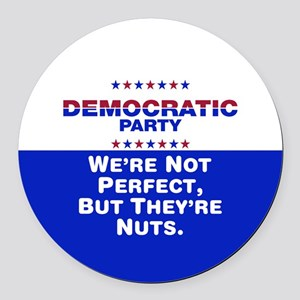Democrats: We're Not Perfect, But They're Nuts Rou