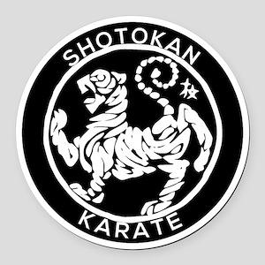 Karate Round Car Magnet