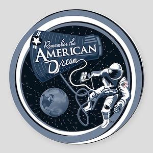 American Dream Round Car Magnet