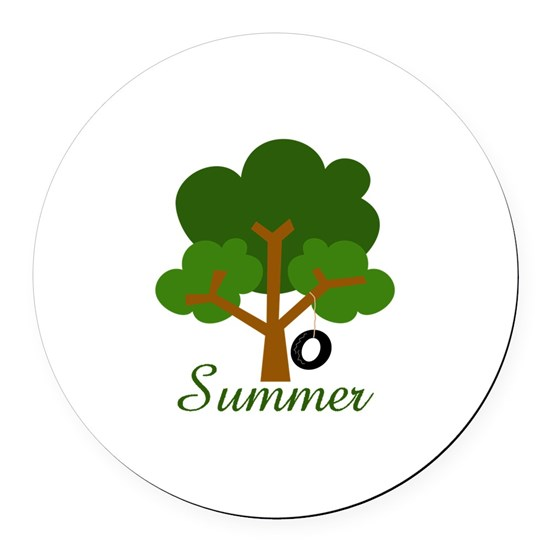 SUMMER TREE APPLIQUE