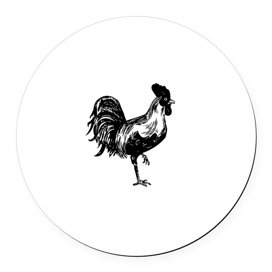 Funny Zero Clucks Rooster