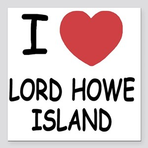 "LORD_HOWE_ISLAND Square Car Magnet 3"" x 3"""