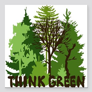 think green save nature earth forest tree trees Sq