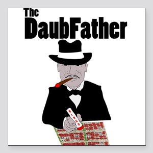 The DaubFather Square Car Magnet