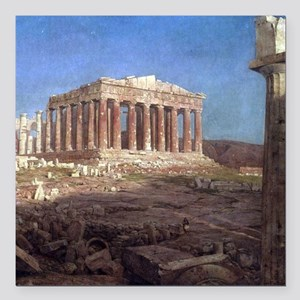 Frederic Edwin Church The Parthenon Square Car Mag