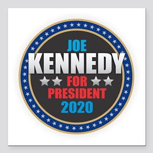 "Kennedy 2020 Square Car Magnet 3"" x 3"""