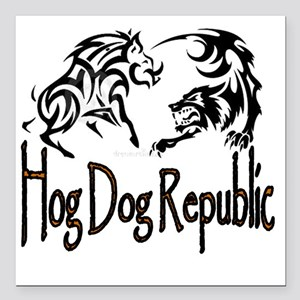 Wild Boar Hog Dog Bay Dog Catahoula Hog Hunt Car Accessories - CafePress