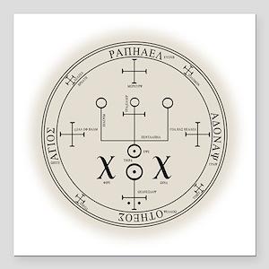 Art Illustration Angel Archangel Seal Sigil Symbol Square