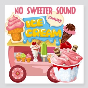 Ice Cream Truck Car Magnets - CafePress
