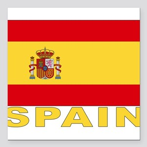 "spain_b Square Car Magnet 3"" x 3"""