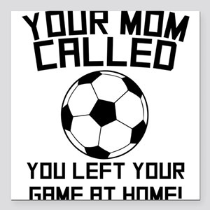 Funny Soccer Quotes Car Accessories - CafePress