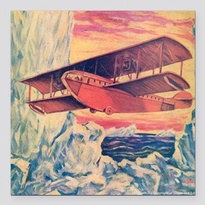 "Tom Swift and his Flying Square Car Magnet 3"" x 3"""