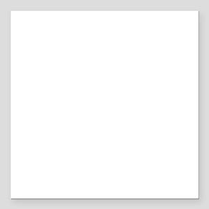 "Van Gogh: Flowering Gard Square Car Magnet 3"" x 3"""