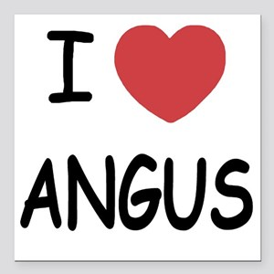 "ANGUS Square Car Magnet 3"" x 3"""
