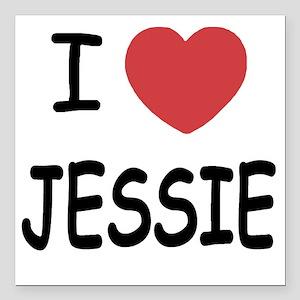 "JESSIE Square Car Magnet 3"" x 3"""