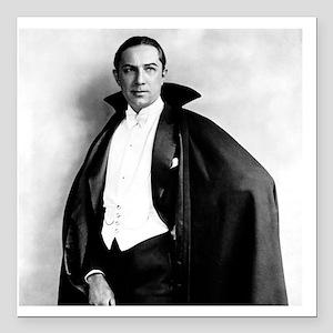 """Bela Lugosi tile Square Car Magnet 3"""" x 3"""""""