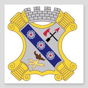 "8th Infantry Regiment Pa Square Car Magnet 3"" x 3"""