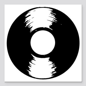 """Vinyl Square Car Magnet 3"""" x 3"""""""