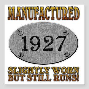 """1927 Square Car Magnet 3"""" x 3"""""""