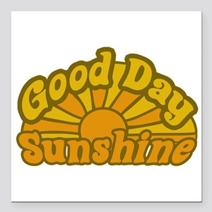"""goodday Square Car Magnet 3"""" x 3"""""""