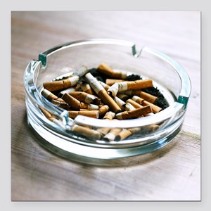 Ashtray - Square Car Magnet 3