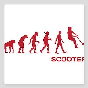 Darwin Ape to man Evolution Push Kick Scooter Squa