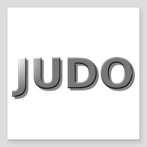 """judo chrome3 Square Car Magnet 3"""" x 3"""""""