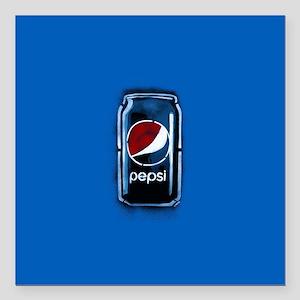 """Pepsi Can Square Car Magnet 3"""" x 3"""""""