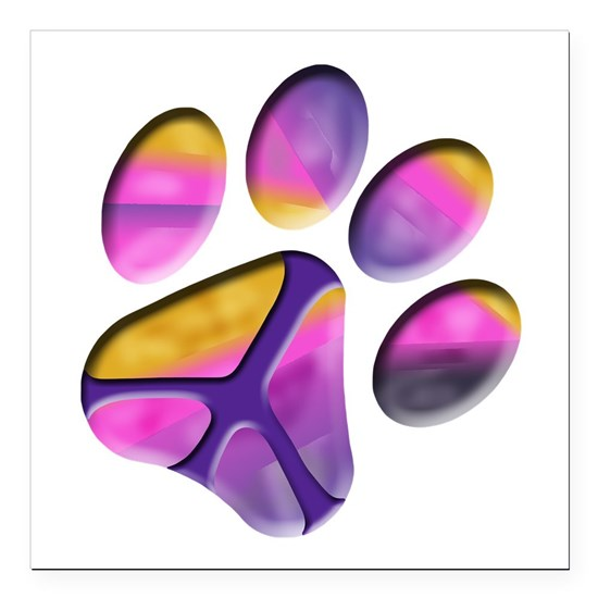Peaceful Paw Print