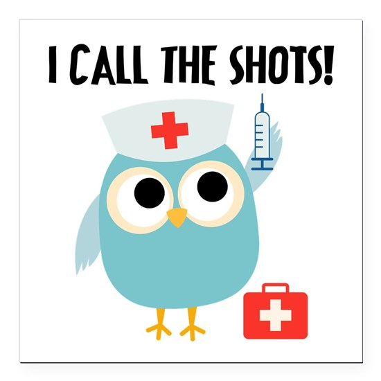 Nurse Owl Calls the Shots