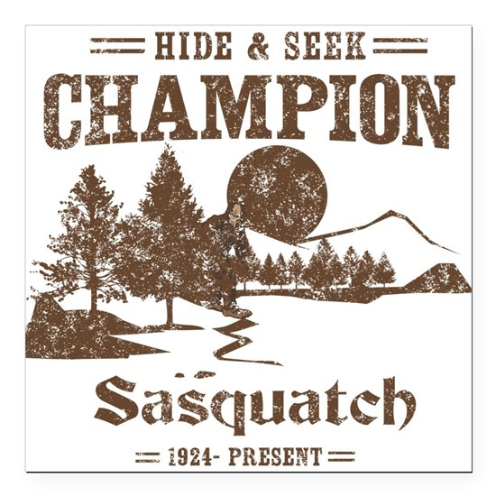 Hide & Seek Champion Sasquatch