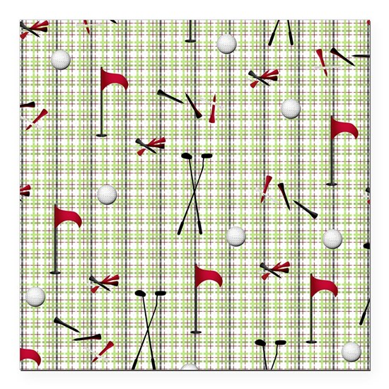 Hole in One Golf Equipment on Plaid