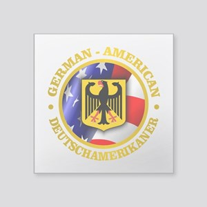 German-American Sticker