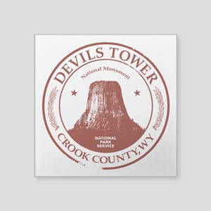 "Devils Tower 3"" Lapel Sticker (48 pk)"