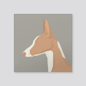 Ibizan Hound Profile Sticker